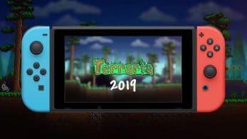 La versión de Terraria para Nintendo Switch llegará en 2019