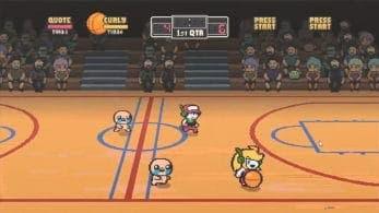 Empleado de Nicalis comparte un gameplay de un crossover de baloncesto con Isaac, Quote y Curly Brace