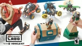 [Act.] El Kit de Vehículos de Nintendo Labo destaca sus principales novedades en un nuevo tráiler