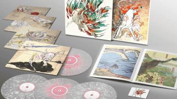 Nueva edición especial de Okami: Libros de arte, discos de vinilo y más