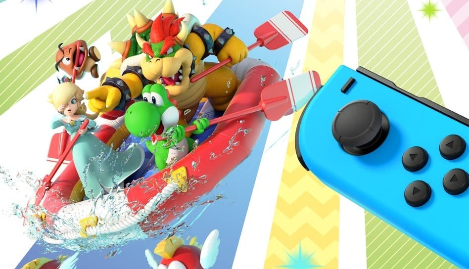 Los Joy-Con interpretan una melodía en Super Mario Party