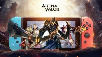 Los servidores de la versión Early Access de Arena Of Valor ya están disponibles para Switch en América y Europa