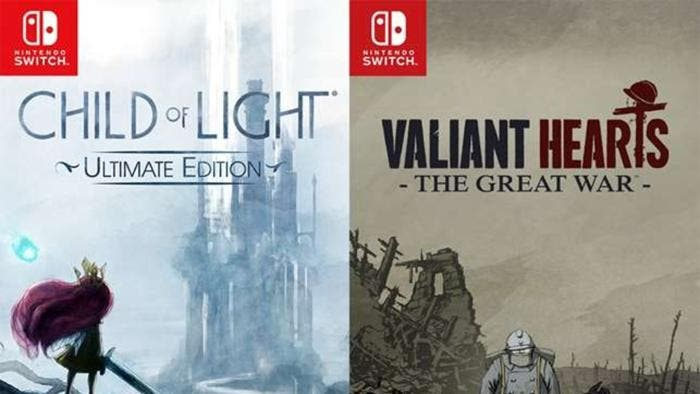 [Act.] Child of Light: Ultimate Edition y Valiant Hearts anunciados para Nintendo Switch