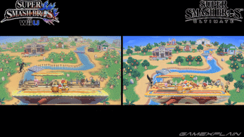 Comparativa en vídeo de los escenarios de Super Smash Bros. for Wii U con sus versiones de Super Smash Bros. Ultimate