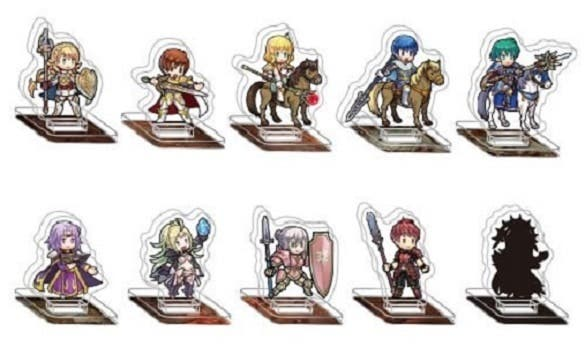 Japón recibirá la séptima serie de figuras acrílicas de Fire Emblem Heroes en septiembre