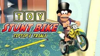 Toy Stunt Bike: Tiptop's Trials da el salto a Nintendo Switch el 23 de agosto