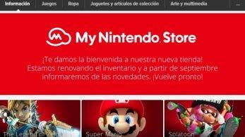 Las Nintendo Online Stores europeas son renombradas como My Nintendo Stores