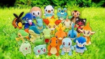 Todos los Pokémon iniciales tendrán nuevos peluches en los Pokémon Center japoneses