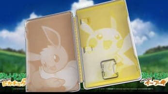 Este vídeo nos da un mejor vistazo al steelbook de Pokémon: Let's Go, Pikachu! / Eevee!