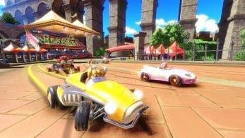 Así es Market Street, una nueva pista de Team Sonic Racing