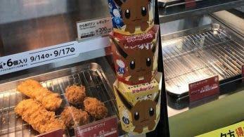 En Japón se vende pollo frito de Eevee