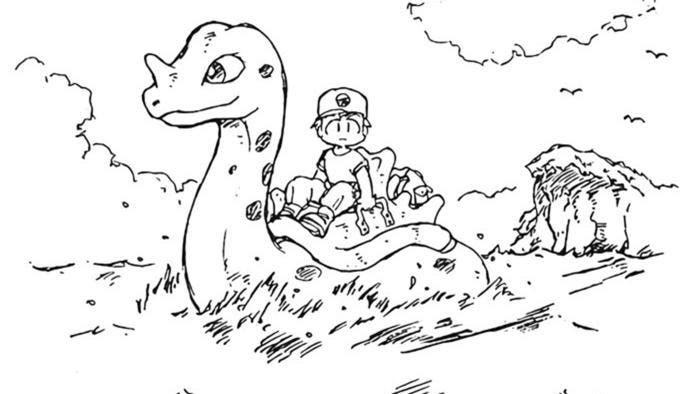 Salen a la luz diseños originales de Satoshi Tajiri y Ken Sugimori, co-creadores de Pokémon