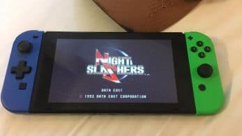 Johnny Turbo's Arcade: Night Slashers está de camino a Switch