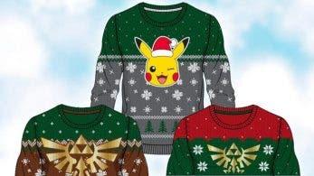 Merchoid lanza una nueva línea de jerséis para Navidad inspirados en Zelda y Pokémon