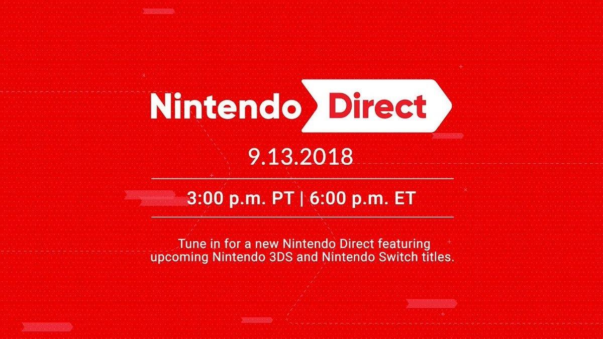 El nuevo Nintendo Direct finalmente tendrá lugar el 13 / 14 de septiembre