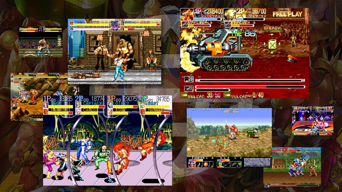 Reviviremos madrinas legendarias con el Capcom Beat 'Em Up Bundle