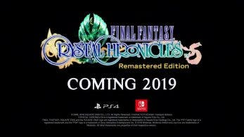 Final Fantasy Crystal Chronicles Remastered Edition confirmado para Nintendo Switch