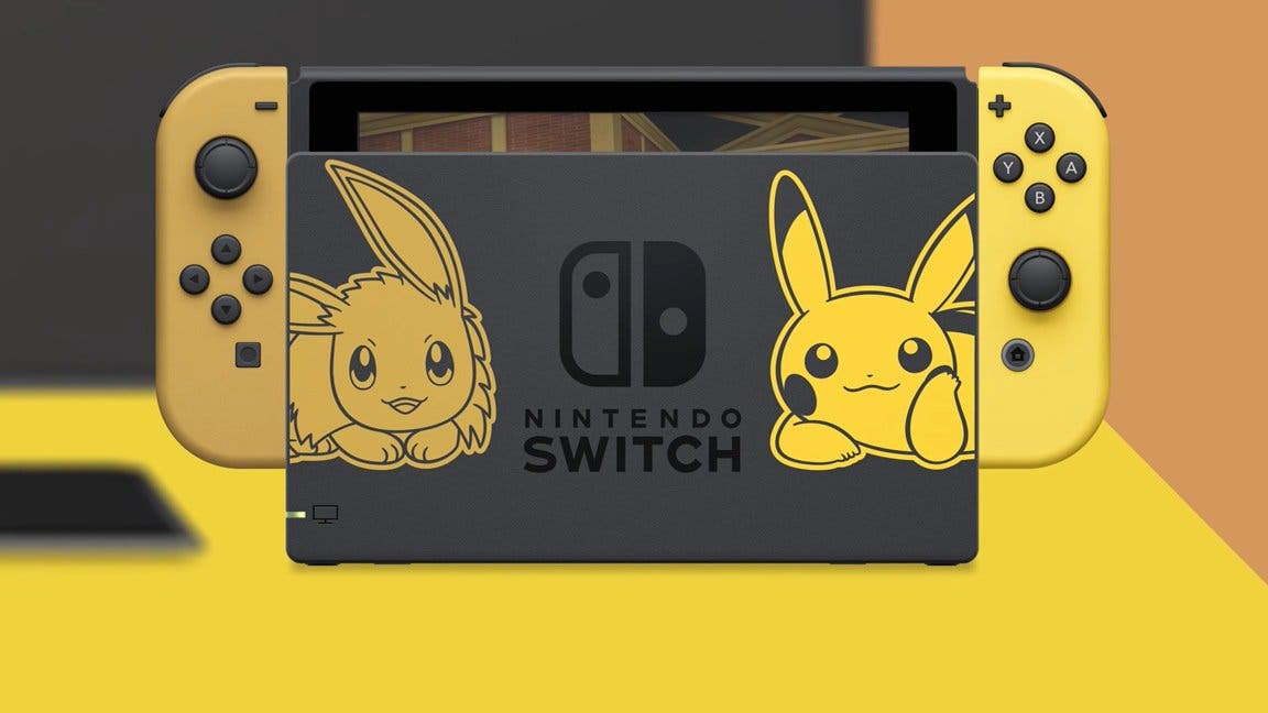 Act Anunciada Una Edicion De Nintendo Switch Con Pokemon Let S Go