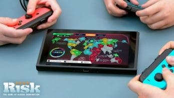 Risk, Trivial Pursuit Live! y Hasbro Game Night llegarán a Nintendo Switch el 30 de octubre