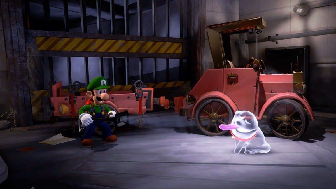 Luigi's Mansion 3 llegará a Nintendo Switch en 2019