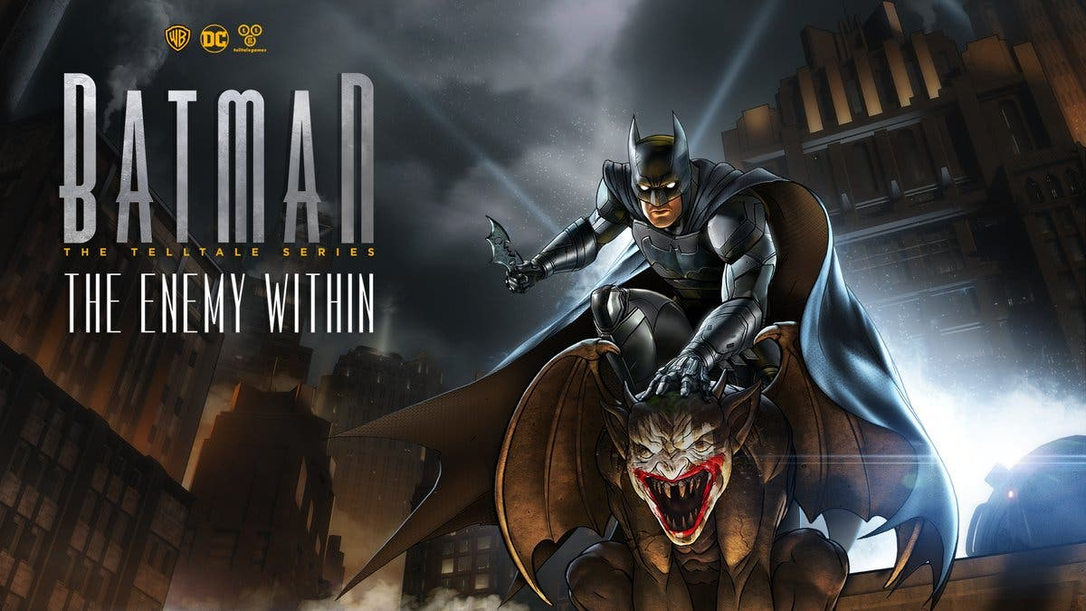 [Act.] Batman: The Enemy Within se estrena el 2 de octubre en Nintendo Switch