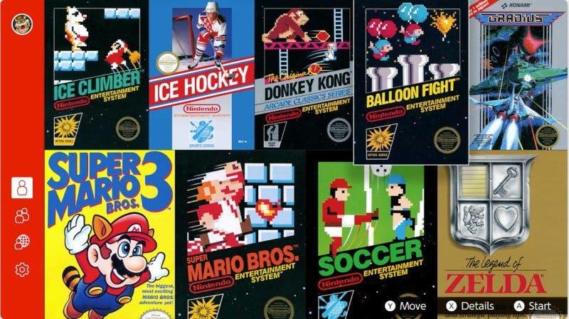 Los juegos de NES de Nintendo Switch Online contarán con resolución en HD y varios filtros