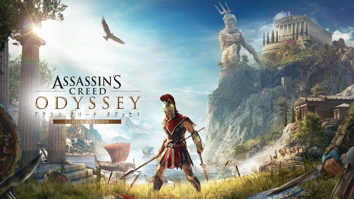 Resultado de imagen de portada Assassin's Creed Odyssey nintendo switch