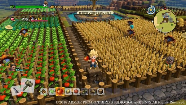 [Act.] Dragon Quest Builders 2 ya ha vendido la mitad de su tirada inicial