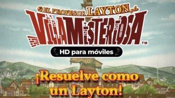 El profesor Layton y la villa misteriosa HD ya disponible para móviles en Occidente