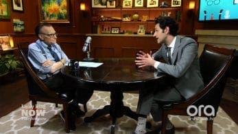 Ben Schwartz le explica a Larry King su papel en la película de Sonic the Hedgehog