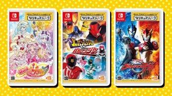Bandai Namco anuncia un trío de juegos de Nari Kids Park para Nintendo Switch en Japón