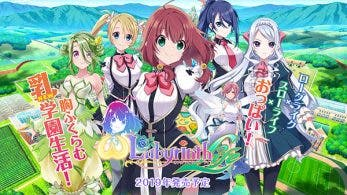 [Act.] D3 Publisher lanza el sitio web teaser de Omega Labyrinth Life para Nintendo Switch