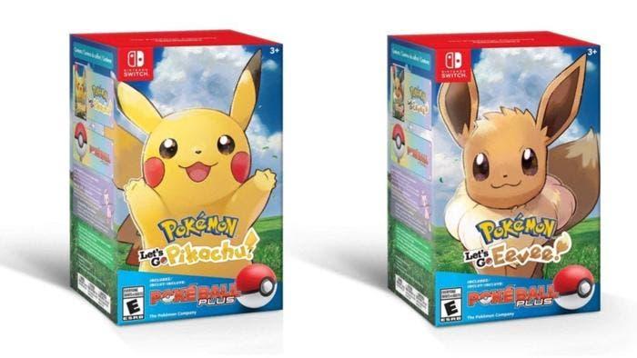 Pokemon Let S Go Pikachu Eevee Actualiza La Caja Del Pack Del
