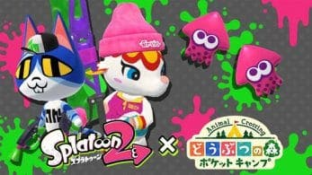 Se confirma el evento de Splatoon 2 para Animal Crossing: Pocket Camp