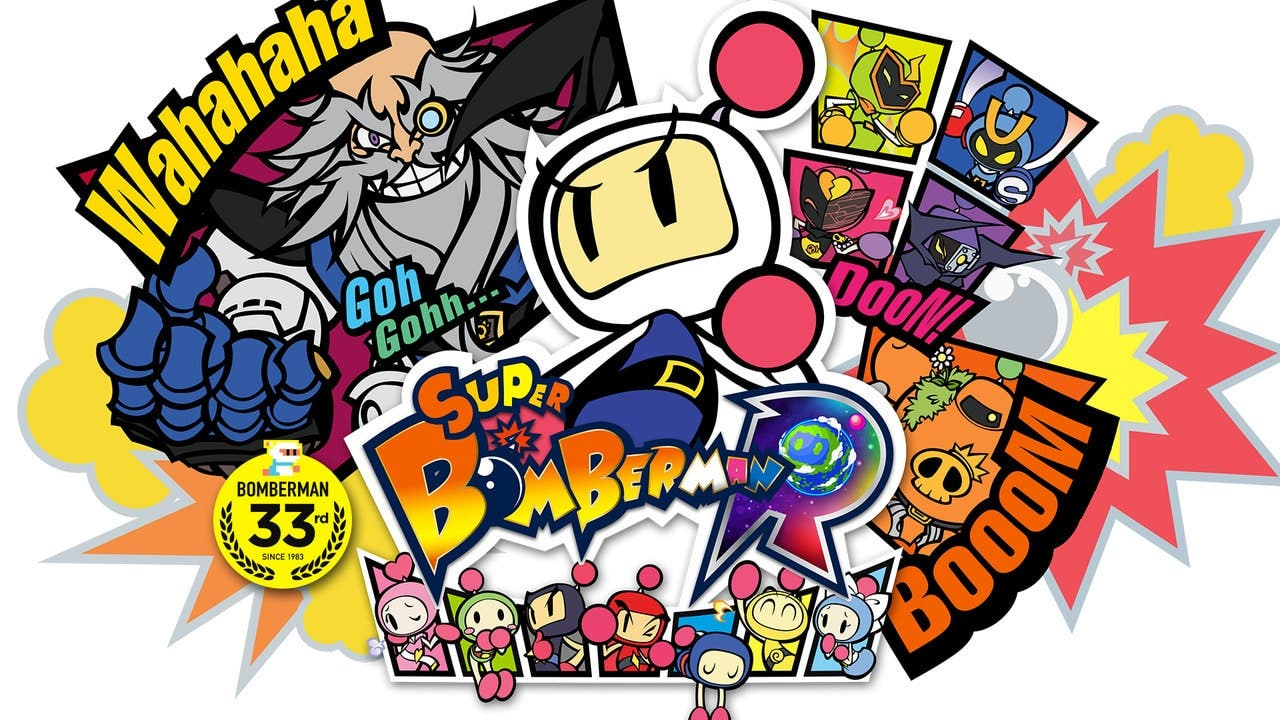 Konami anuncia la Super Bomberman R Smile Price Collection para Nintendo Switch en Japón