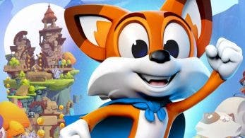 Así es el boxart de New Super Lucky's Tale para Nintendo Switch