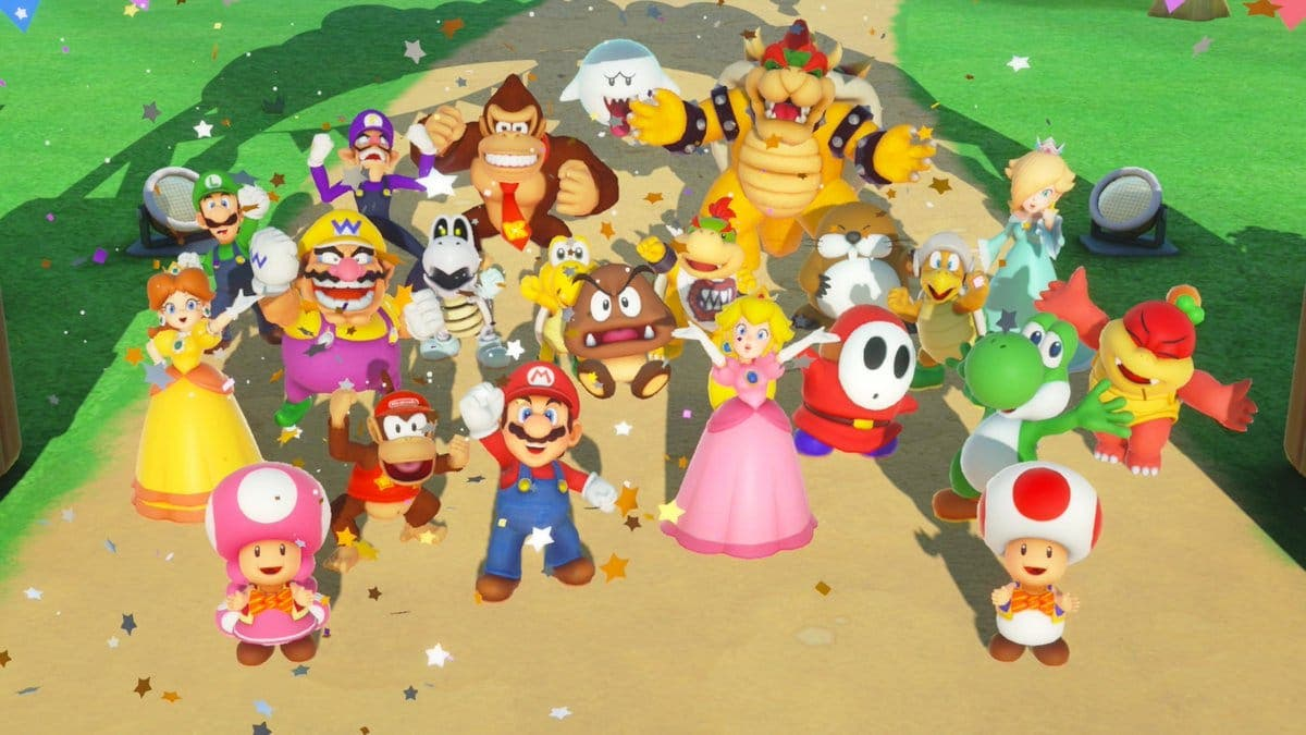 Super Mario Party recibe su primera actualización