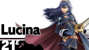 Lucina se presenta en el blog oficial de Super Smash Bros. Ultimate