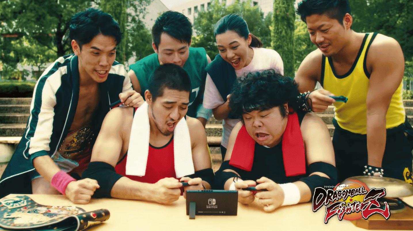 Nintendo lanza un nuevo comercial japonés centrado en FIFA 19, Fortnite y Dragon Ball FighterZ