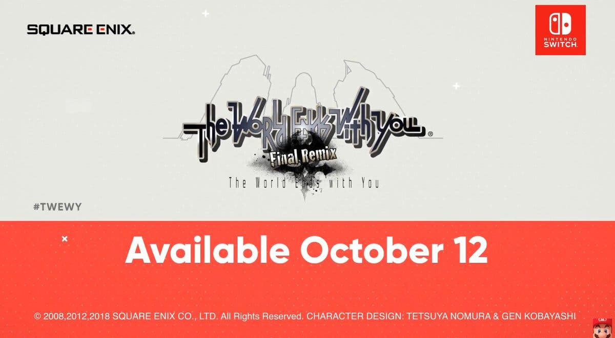 The World Ends With You: Final Remix llega este 12 de octubre con una nueva historia a Nintendo Switch