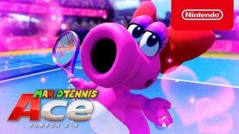 Birdo se luce en este nuevo tráiler de Mario Tennis Aces