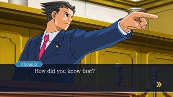 [Act.] Echa un vistazo a este gameplay de Phoenix Wright: Ace Attorney Trilogy en Nintendo Switch