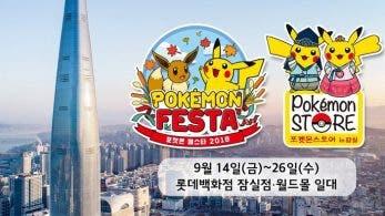 El festival Pokémon Festa 2018 se llevará a cabo en Seúl