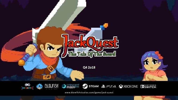 Anunciado JackQuest: Tale of the Sword para Nintendo Switch