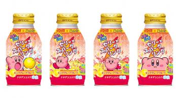 Estas nuevas bebidas de Kirby han sido mostradas en Japón