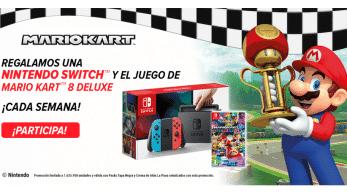 La Piara regala cada semana una Nintendo Switch con Mario Kart 8 Deluxe