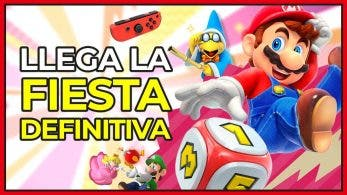 [Vídeo] ¡La fiesta definitiva! Jugamos Super Mario Party en profundidad: Gameplay en español en Nintendo Switch