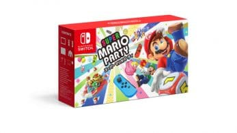 Se anuncia un pack personalizable de Nintendo Switch y Super Mario Party en Japón