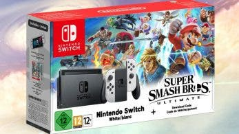 Amazon España utiliza por error un fanart para listar el pack de Nintendo Switch y Super Smash Bros. Ultimate