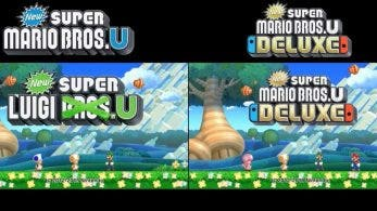 Comparativa en vídeo: New Super Mario Bros. U vs. New Super Mario Bros. U Deluxe